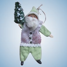 Cute Artist Santa Candy Container or Bag