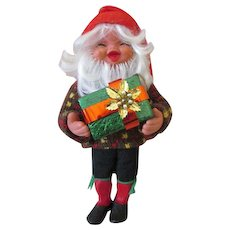 Adorable Vintage Christmas Elf or Gnome