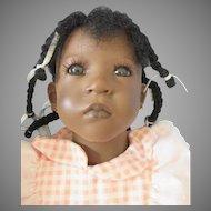 Annette Himstedt Puppen Kinder 1992/93 Collection Sanga doll