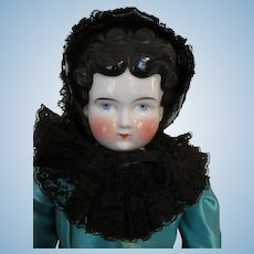 Large Antique China Head Doll
