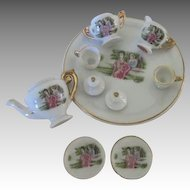 Vintage Miniature Doll's Tea Set