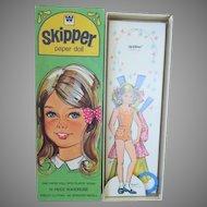 Vintage Uncut Skipper Paper Doll in Original Box