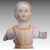All Bisque Antique Doll