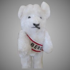 Vintage Miniature German Berlin Bear for your Antique Dolls