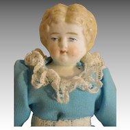 Pretty Blond China Head Doll