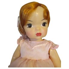 Pretty Terri Lee Doll in Pink Dress