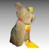 Sweet Steiff Puppy for your Bisque Head Doll