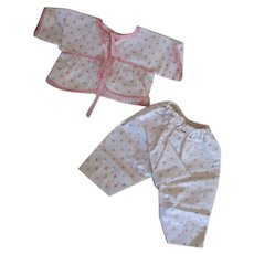 "Sweet Pajama Set for your 13"" Baby Doll - Red Tag Sale Item"