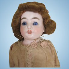 Beautiful COD Bisque Head Doll  Antique Doll