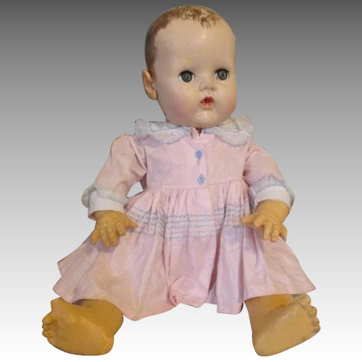 62f80c9f07 Large Dy Dee Baby Doll for Parts or Display   Nostalgic Images ...
