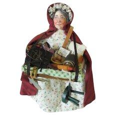 Artist Peddler Doll - Wonderful Detail