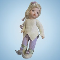 Tiny Artist Elf Doll House Doll