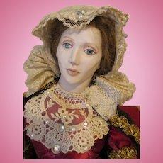 Artist Queen of Scots Doll by Kathy Redmond