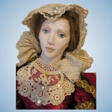 Artist Queen of Scots Doll by Kathy Redmond