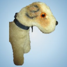 Antique Mohair Dog for Your Doll's Companion