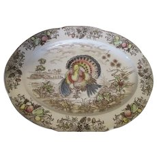 Vintage Turkey Platter - Nice Design