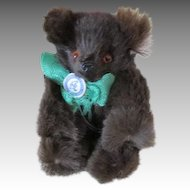 Antique German Miniature Teddy Bear of Real Fur