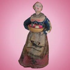 Beautiful Antique Neapolitan Creche Figure
