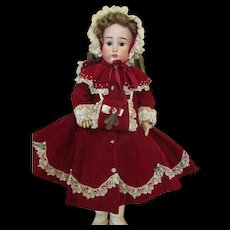 3 Piece Winter Ensemble For Your Bisque Head Doll