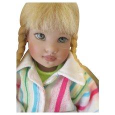 Helen Kish Riley's World Collection - Explorer Avery Doll