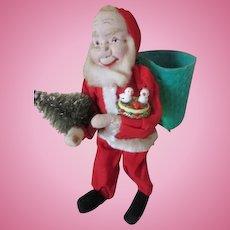 Sweet Vintage Cloth Santa Claus