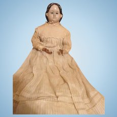 Antique Greiner Doll with Exposed Ears