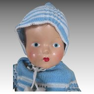 Composition Baby Doll in Winter Outfit