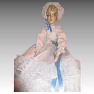 Antique Boudoir Doll - Circa 1920's to 1930's