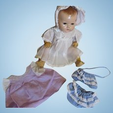"Three Outfits for Your 16"" Dy Dee Baby Doll"