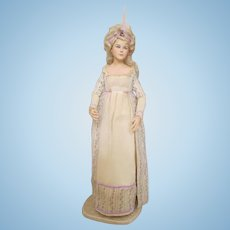 "Stunning 17"" Artist Doll in Wonderful Costume"