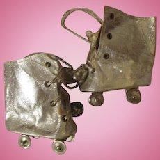 Vintage Silver Roller Skates for Your Vintage Doll