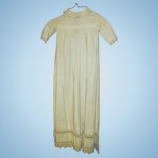 Antique Christening Gown for Your Antique Baby Doll
