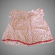 Antique Floral Dress for Your Antique Doll