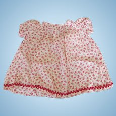 Antique Floral Dress for Your Antique Doll