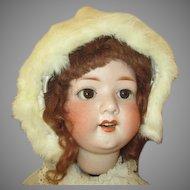 Antique Fur Hat for Your Large Antique Doll