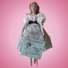 1984 Tuesday's Child Doll Club Luncheon Souvenir Doll