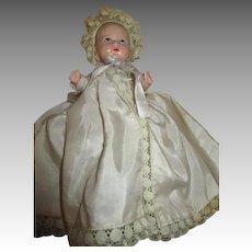Cute 1949 Hollywood Plastic Baby Doll