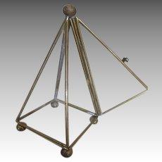 Miniature Triangle Terrarium for Your Dolls