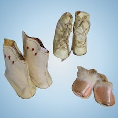 Assortment of Nancy Lee Shoes - Skates, Boots, and Slippers