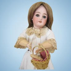 "Gorgeous 18"" CM Bergmann Simon Halbig Bisque Head Doll"