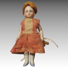 Antique Miniature German All Bisque Doll Marked 8903 2