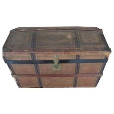 Antique Litho Doll Trunk For Your Antique Doll