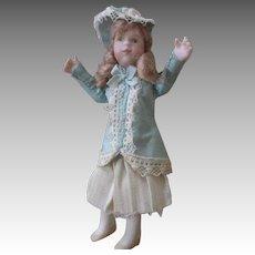 Sensational Artist Miniature Doll House Doll