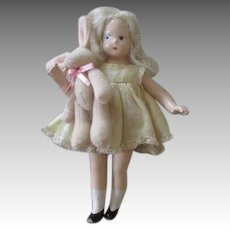 Sweet Composition Madame Alexander Doll with Bunny
