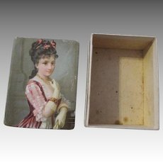 Miniature Decorative Box for Your Dolls