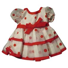 Vintage Shirley Temple Doll Dress