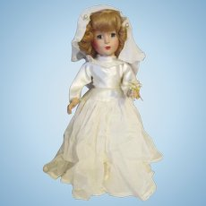 Stunning Vintage Bride Doll - All Original