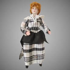 Vintage Doll House Doll