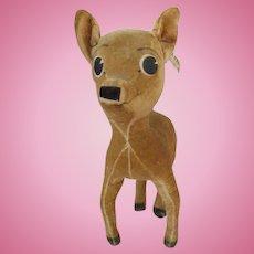 Vintage Disney Bambi Velveteen Toy