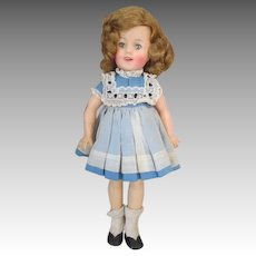 Adorable Vintage Shirley Temple Doll in Original Outfit